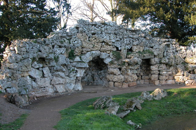 Grotto in Croome Park