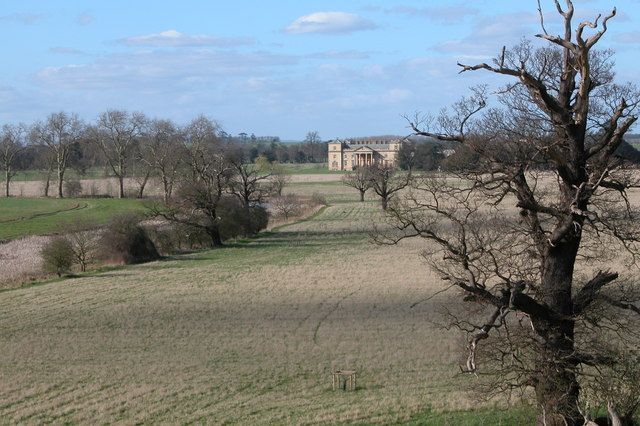 Croome Court viewed from Owl's Seat