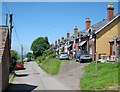 SO5877 : Cottages at Bedlam by Trevor Rickard