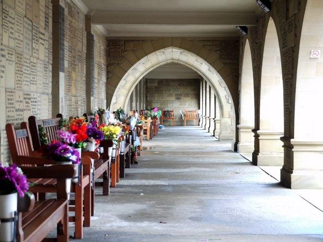 Loggia, West Road Cemetery & Crematorium