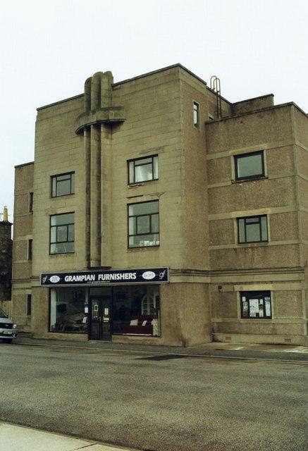 Art Deco ex Regal Cinema, Queen Street, Lossiemouth