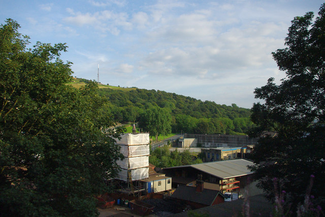 Rear of Hargreaves Foundry, Water Lane, Halifax