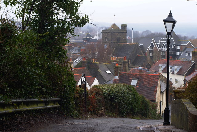 View From Chapel Hill, Lewes, Sussex