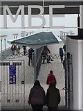 SZ1191 : Boscombe: New Year honours at the pier by Chris Downer