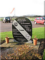 TM0793 : Old Buckenham Airfield - Memorial by Evelyn Simak