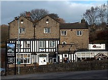 """SK2480 : """"The Millstone Inn"""", Hathersage Booths by Neil Theasby"""