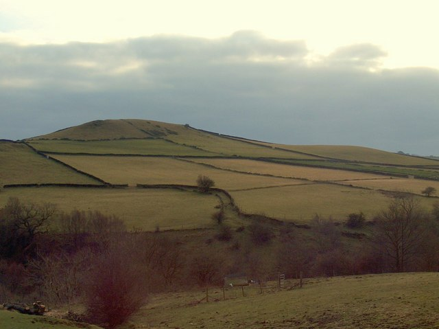 Abney Low viewed from the eastern edge of Abney