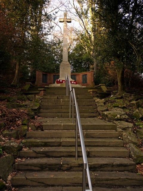 War Memorial, Station Road, Ryton