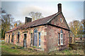 NT4678 : Gamekeepers cottage, Gosford Estate by alan thomson