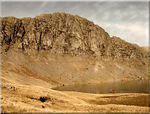 NY2807 : Pavey Ark and Stickle Tarn by Chris Denny