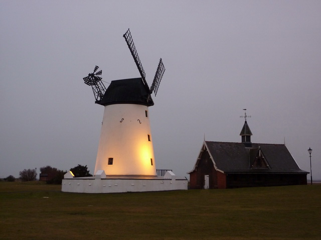 Lytham Windmill and former lifeboat station