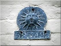 SU1131 : Firemark, Quidhampton by Maigheach-gheal