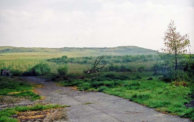 Site of the former Ivor Iron Works, Dowlais (Year 2000)