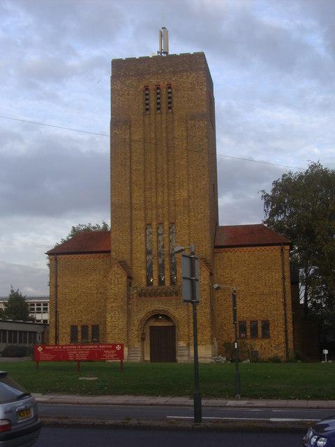 Church on Hospital Bridge Road, Whitton