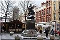 SJ8398 : Boer War Memorial, St Ann's Square by N Chadwick