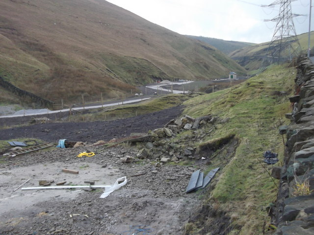 Clough Foot Minewater Treatment Scheme, Midgelden Brook, Bacup Road, Todmorden, West Yorkshire