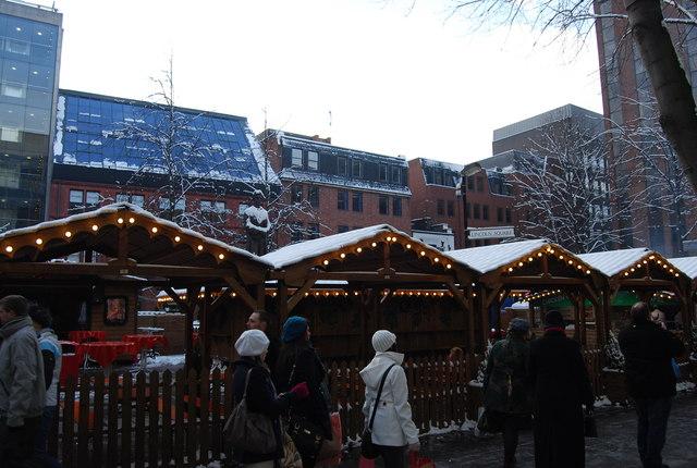 Christmas Market, Albert  Square
