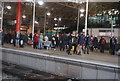 SJ8498 : Metrolink Station, Victoria Station by N Chadwick