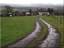 SJ8860 : Higher Whitemoor Farm by Jonathan Kington