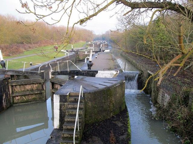 Stockton Locks-Grand Union Canal