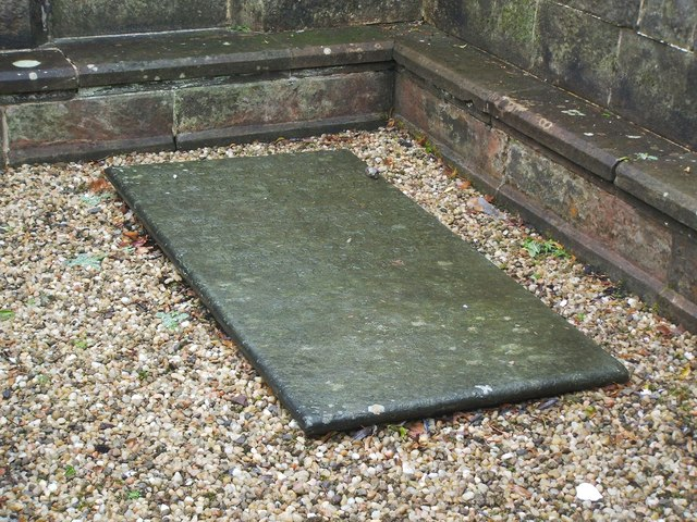 The gravestone of John Brown