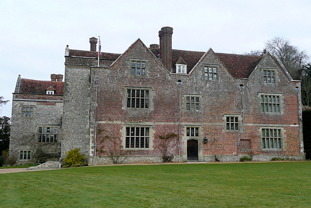 Chawton House from the south