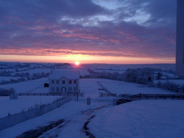 Winter Solstice Sunrise 2010