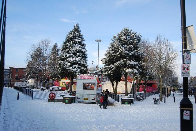 Kay Gardens in snow