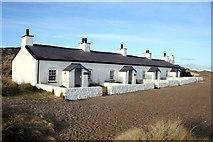SH3862 : Pilot's cottages on Ynys Llanddwyn by Jeff Buck