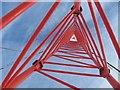 NN9607 : Anemometer mast, Steele's Knowe by Richard Webb