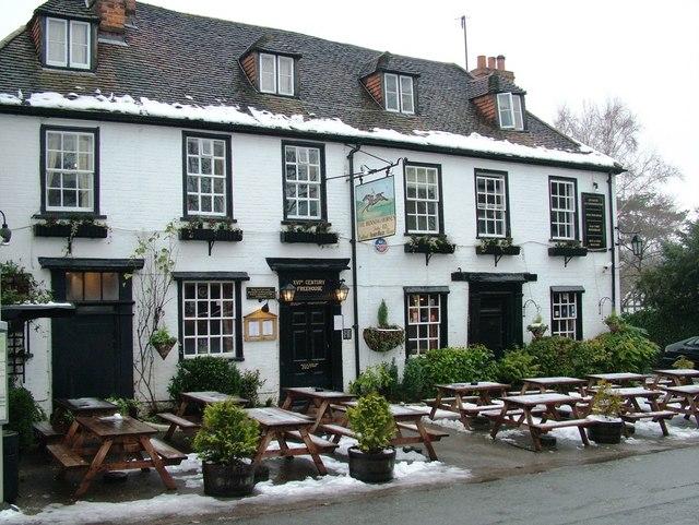 The Running Horses Inn, Old London Road, Mickleham