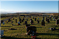 NZ1138 : Cemetery at Tow Law by Trevor Littlewood