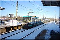 SD7807 : Metrolink tram, Radcliffe Station by N Chadwick