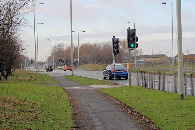 A1300, John Reid Road