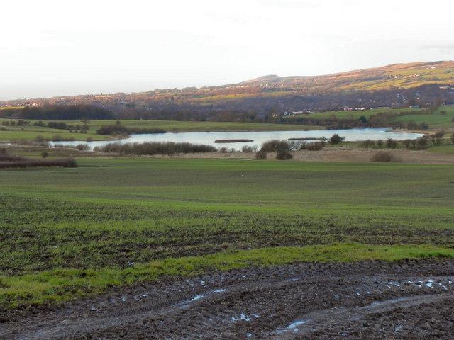 View Towards Rumworth Lodge Reservoir.
