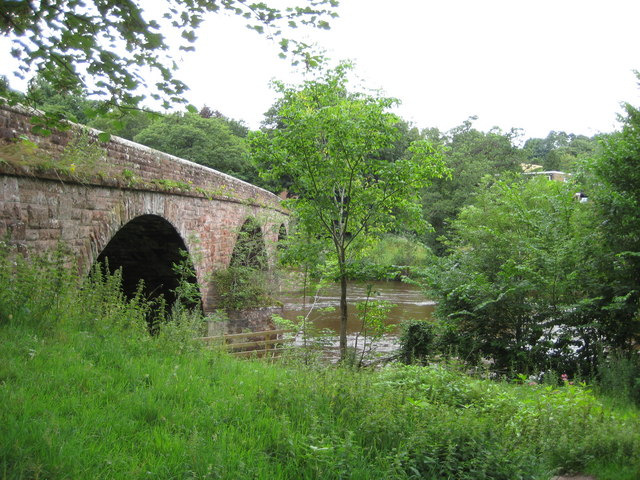 The Bridge on the River Eden, Armathwaite, Cumbria