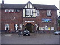 TQ0562 : Byfleet & New Haw station by David Howard