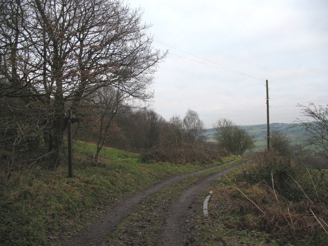 Meeting the Gritstone Trail