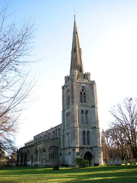 St Leonard's church in Leverington