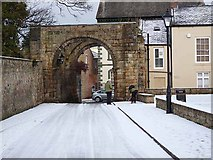 NY9364 : St Wilfrid's Gate, Hexham by Oliver Dixon