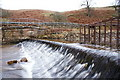 NY5753 : Weir on Old Water by David Liddle
