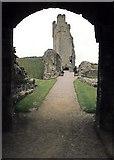 SE6183 : Helmsley Castle by Alan Walker