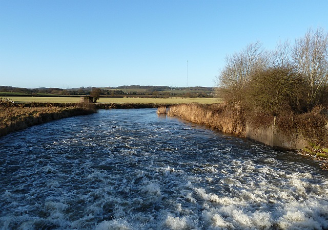River Tame link to Flood Relief Channel