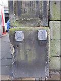 SJ3589 : Fire hydrant markings outside the Oratory by John S Turner