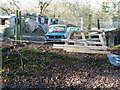 TQ0521 : Abandoned Mini on the edge of Toat Plantation by Dave Spicer