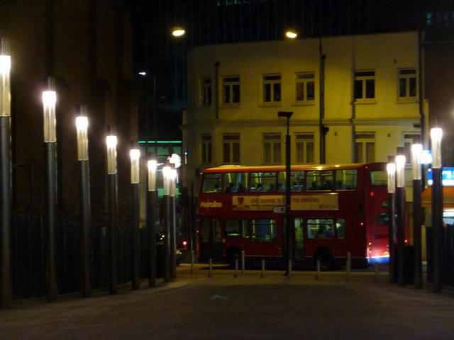 Wembley: town centre bus