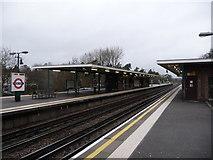 TQ0893 : Northwood: Moor Park Underground Station by Chris Downer