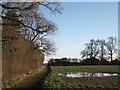 SP1775 : Bridleway to 'Lansdowne Farm' by Robin Stott