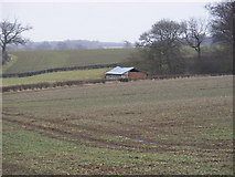 TM3669 : Barn near Hencoup Wood by Adrian Cable