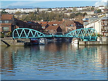 ST5772 : Harbour footbridge at Hotwells, Bristol by Anthony O'Neil